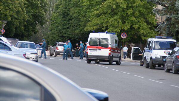 На месте взрыва в Луганске - Sputnik France