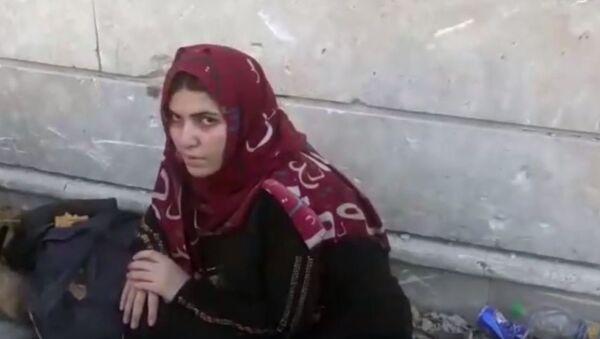 Les épouses de combattants de Daech parlent devant la camera - Sputnik France
