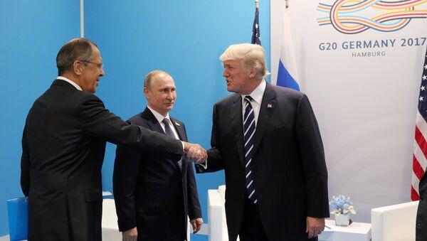 rencontre Poutine-Trump - Sputnik France