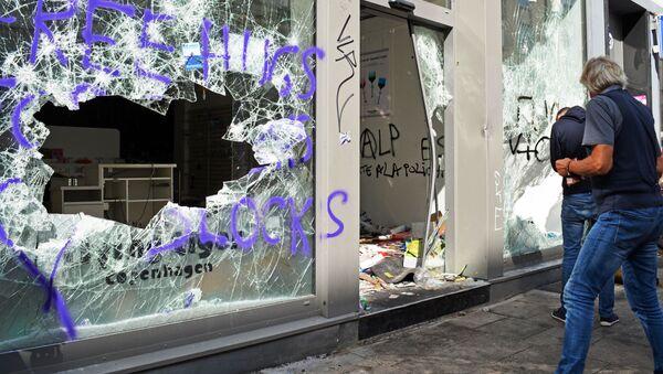 Diplomatie allemande: les émeutes à Hambourg nuisent à l'image du pays - Sputnik France