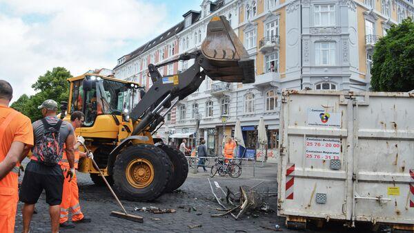 La ville de Hambourg sera indemnisée suite aux dégâts causés par les affrontements - Sputnik France