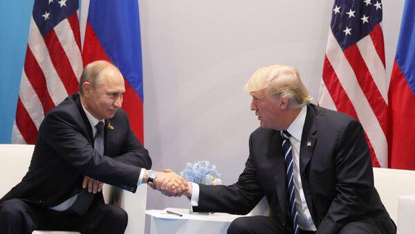 Poutine et Trump - Sputnik France