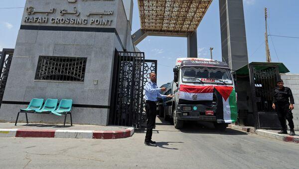 L'Égypte instaure un couvre-feu dans les zones frontalières avec Gaza - Sputnik France