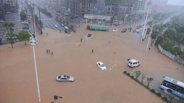 L' inondation. Chine  - Sputnik France