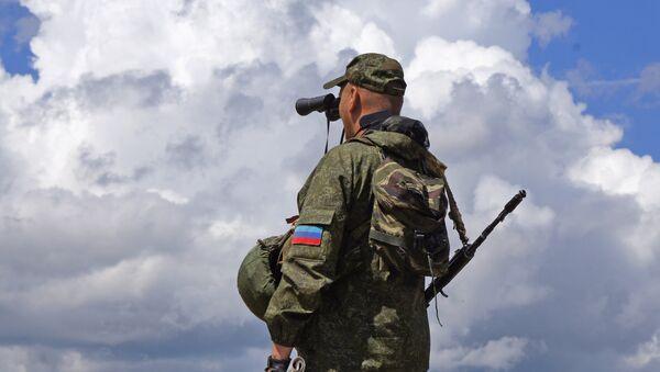 Membre d'une milice populaire de la république de Lougansk - Sputnik France