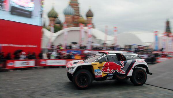 Le commencement du Rallye de la route de la Soie à Moscou - Sputnik France