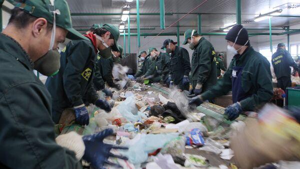 L'usine de recyclage des déchets à Sotchi - Sputnik France