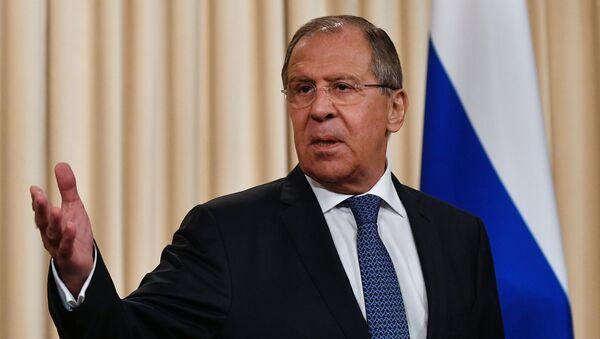 Sergueï Lavrov, le ministre russe des Affaires étrangères - Sputnik France