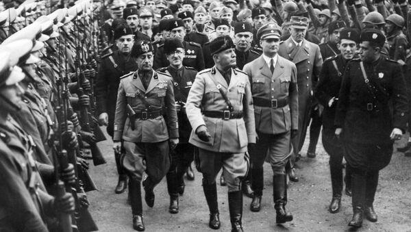 Benito Mussolini (Archivbild) - Sputnik France