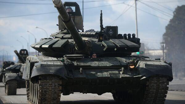 Char russe T-90 - Sputnik France
