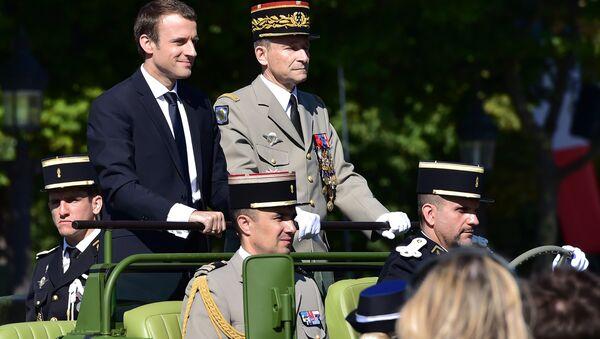 mmanuel Macron et Pierre de Villiers - Sputnik France