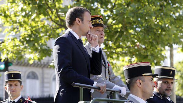 Emmanuel Macron et Pierre de Villiers - Sputnik France