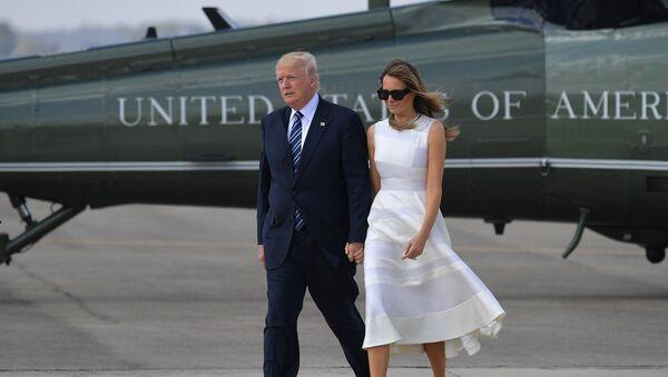 Donald Trump et Melania Trump (archives) - Sputnik France