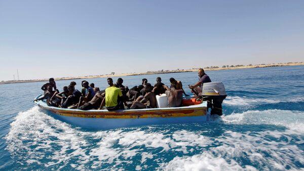 Migrants en mer - Sputnik France