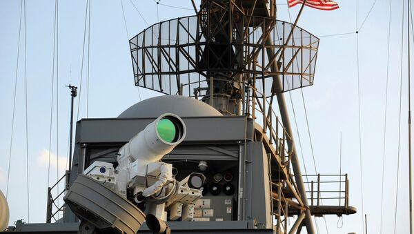 L'arme laser (LaWS) américaine - Sputnik France