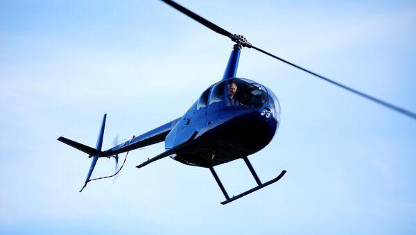 Robinson R44 helicopter - Sputnik France