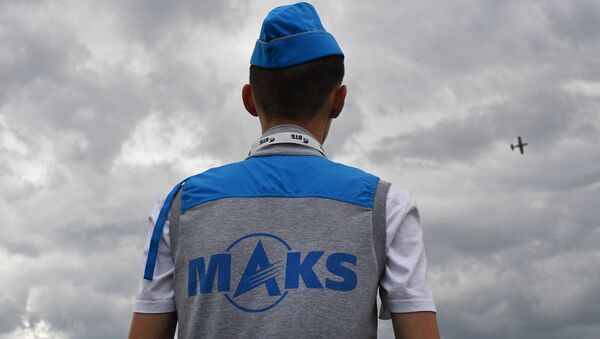 На Международном авиационно-космическом салоне МАКС-2017 в подмосковном Жуковском - Sputnik France
