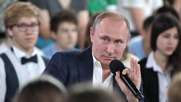 Недетский разговор с Владимиром Путиным - Sputnik France