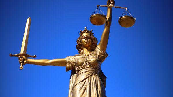 Justicia (imagen referencial) - Sputnik France
