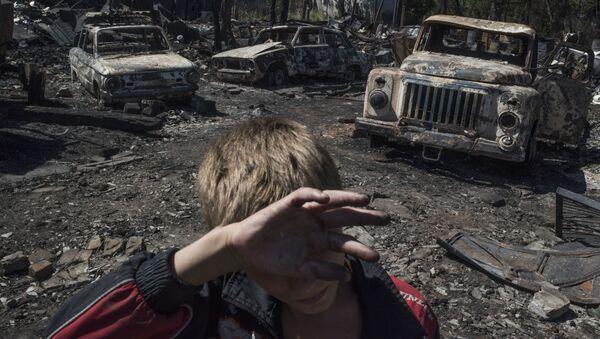 Dans le Donbass - Sputnik France
