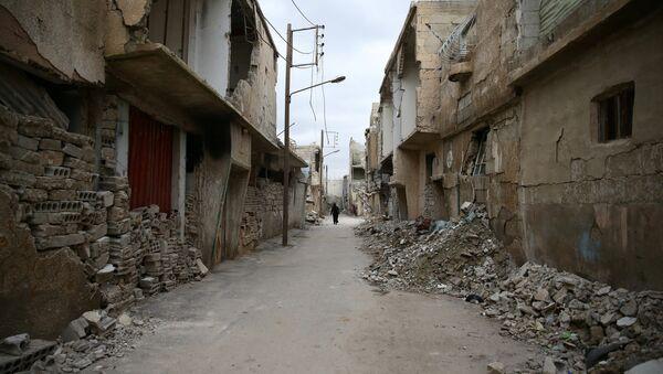 Des maisons endommagées en Syrie - Sputnik France