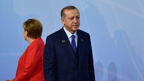 Angela Merkel et Recep Tayyip Erdogan. Archive photo - Sputnik France