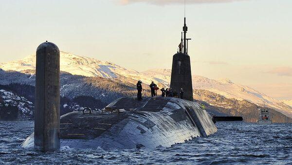 Nuclear Submarine HMS Vanguard Returns to HMNB Clyde, Scotland MOD - Sputnik France
