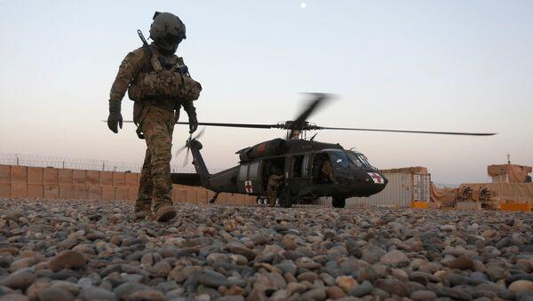 Un militaire américain en Afghanistan - Sputnik France