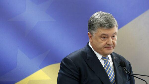 Le nombre d'Ukrainiens soutenant le Président Porochenko s'approche de zéro - Sputnik France