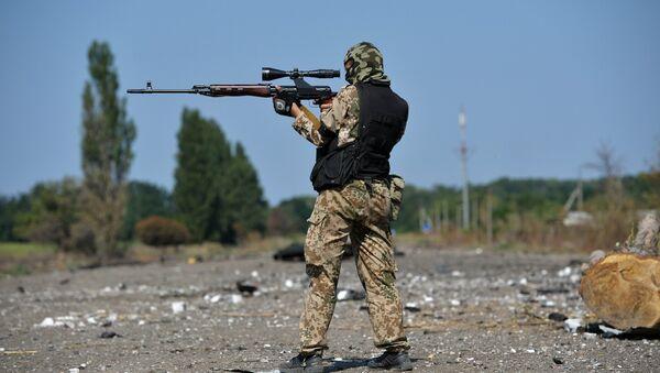 les snipers ukrainiens - Sputnik France