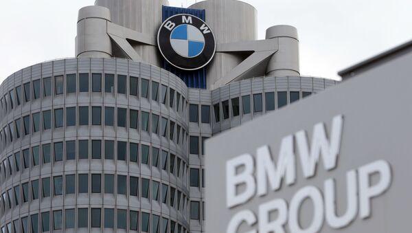 Штаб-квартира автоконцерна BMW в Мюнхене - Sputnik France
