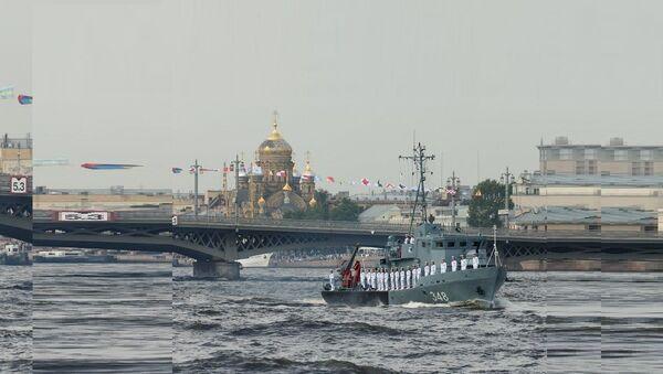 Russian Navy Day parade in St. Petersburg - Sputnik France