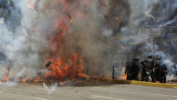 Explosion à Caracas - Sputnik France