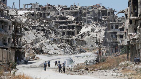 Un quartier de Homs, en Syrie - Sputnik France
