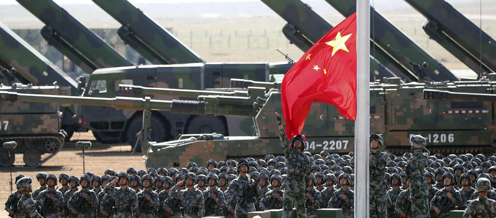 Artillerie et militaires chinois - Sputnik France, 1920, 21.06.2021