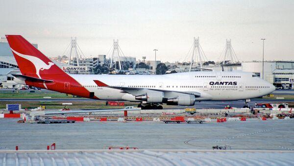 Un avion de la compagnie aérienne Qantas - Sputnik France