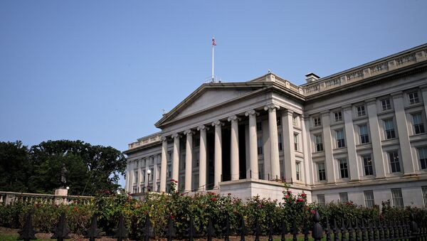 The US Treasury Department - Sputnik France
