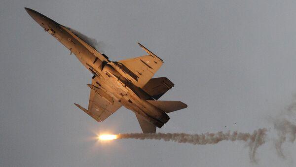 Un F-18 Hornet finlandais - Sputnik France
