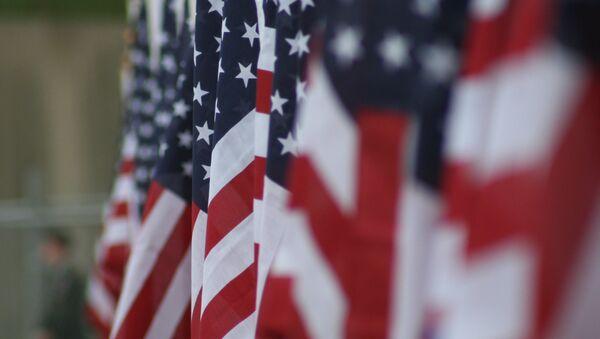 Las banderas de EEUU - Sputnik France