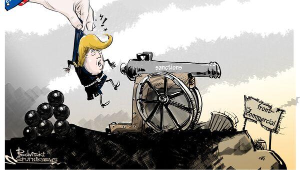 Trump signe la loi sur les sanctions antirusses - Sputnik France