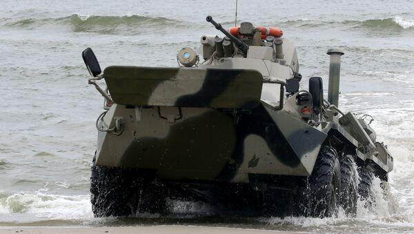 Les manœuvres de débarquement dans la région de Kaliningrad - Sputnik France