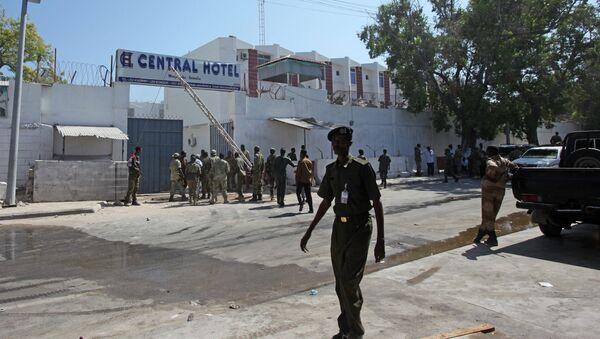 Forces de l'ordre somaliennes - Sputnik France