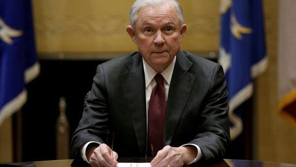 Le procureur général des États-Unis, Jeff Sessions - Sputnik France