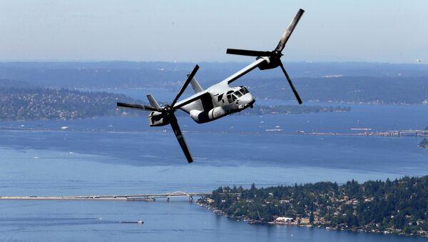 Un tiltrotor MV-22B Osprey - Sputnik France