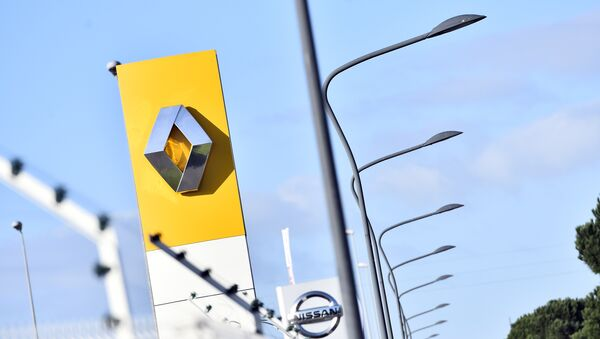 Le Logo de Renault, image d'illustration - Sputnik France
