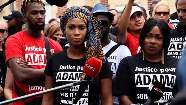 Marche pour Adama Traoré  à Paris - Sputnik France