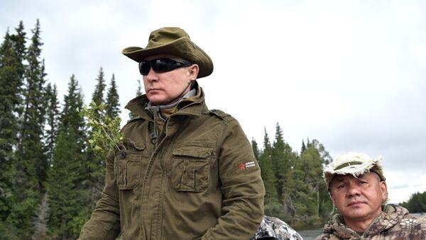 Президент РФ В. Путин провел отпуск в Республике Тыва - Sputnik France