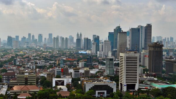Panoramic view of Jakarta from National Monument. - Sputnik France