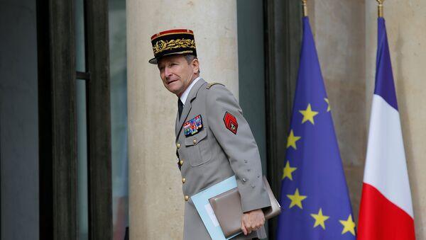 El jefe del Estado Mayor de las Fuerzas Armadas francesas, general Pierre de Villiers - Sputnik France