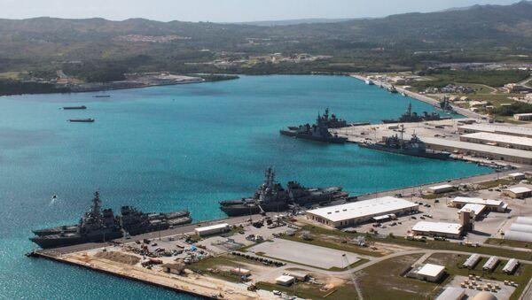 La base navale américaine d'Apra Harbor, à Guam - Sputnik France